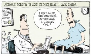 Blog cartoon expensive diagnosis